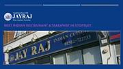 Jay Raj - Indian Restaurant & Takeaway in Stopsley, Luton