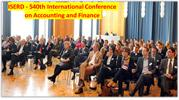 ISERD - 540th International Conference on Accounting and Finance