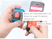 Technology is changing the fitness & health industry – Odeta Rose