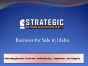 Professional Business Brokers in Idaho - SMA Executives
