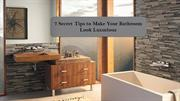 7 Secret Tips to Make Your Bathroom Look Luxurious
