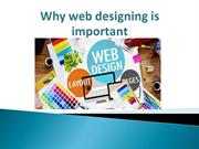 Why web designing is important