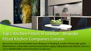 Top 5 Kitchen Fitters in London - Bespoke Fitted Kitchen Companies Lon