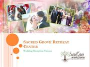 Sacred Grove Retreat Wedding Venues