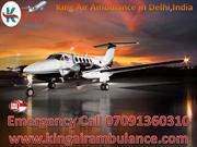 King Air Ambulance services in  Delhi-Cost Efective Air Ambulance Serv