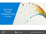Web Design Concepts All Beginners Need To Know