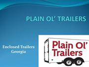 8.5 x12 enclosed trailer