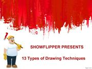 13 types of drawing techniques