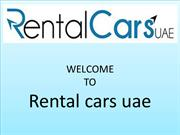 Rent a car in Dubai, UAE at AED 40 Only Per Day