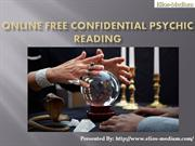 Online Free Confidential Psychic Reading