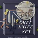 chef knife set at Brennans Caterworld Ireland