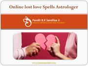 Online Lost Love Spells Astrologer - Pt