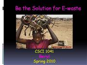 Be the solution 1