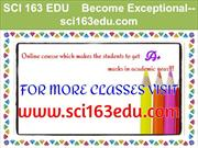 SCI 163 EDU    Become Exceptional--sci163edu.com