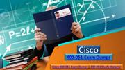 To Start Pdf Exam Dumps Cisco 400-051 | Realexamdumps.com