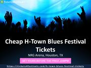 Discount H-Town Blues Festival 2019 Tickets