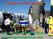 Call 07091360310 and Book Very Low Fare King Air Ambulance Patna to De