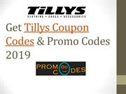 Tillys Coupon Codes & Promo Codes 2019
