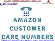 call Amazon customer service phone number for solutions 1844.659.2999