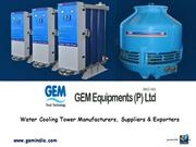 Water Cooling Tower Manufacturers