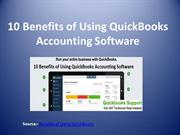 10 Benefits of Using QuickBooks Accounting Software