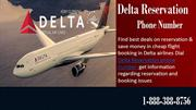Cheap Flights | Airline Tickets with Delta Reservation Phone Number