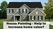 House Painting - Help to increase home value?