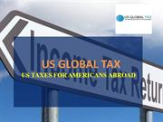 US Global Tax - US Taxes For Americans Abroad
