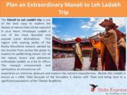 Plan an Extraordinary Manali to Leh Ladakh Trip