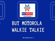 Motorola Walkie Talkie Dealers in Delhi Ncr