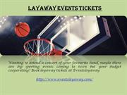 layaway events tickets
