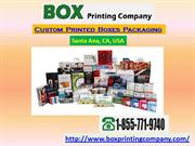 Custom Printed Boxes and Packaging Services