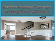 Interior Painting Company Serving All Of GTA Area