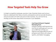How Targeted Tools Help YouGrow