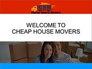 Professional Cheap Movers in Brisbane