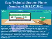 Sage Technical Support Phone Number +1 888 597 3962