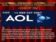 AOL Technical Support Phone Number +1 888 597 3962