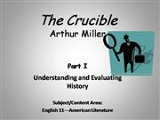 Understanding and Evaluating History