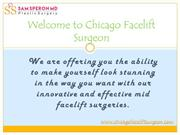 Now you can get the best neck lift Chicago surgeries with us: