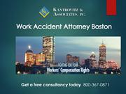 Boston work accident attorney