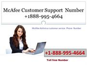 McAfee Customer Support Number +1-888-995-4664