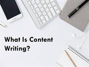 What is Content Writing | Types Of Content Writer