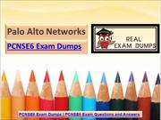 Latest PCNSE6 Exam Dumps in Printable PDF - PCNSE6 Study Material