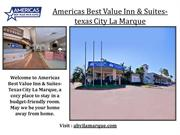 Americas Best Value Inn & Suites-Texas City La