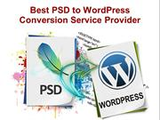 Best PSD to WordPress Conversion Service Provider