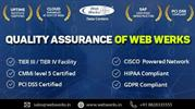 Working to the highest standards, Web Werks Data Centers Quality Assur
