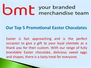 Promotional Easter Chocolates