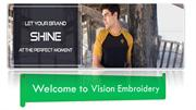 Vision Embroidery was established in 2002 in Queens, New York.