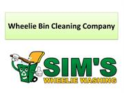 Get Cleaning Service From Wheelie Bin Cleaning Company