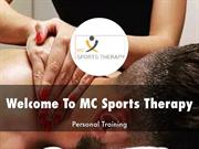 MC Sports Therapy Presentations